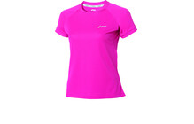 Asics L3 W'S Run Short Sleeve Top magenta